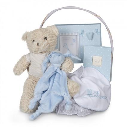 Newborn Baby Hamper & Baby Gift Baskets | BebedeParis  Memories Essential Baby Gift Basket