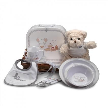 Newborn Baby Hamper & Baby Gift Baskets Essential tableware basket