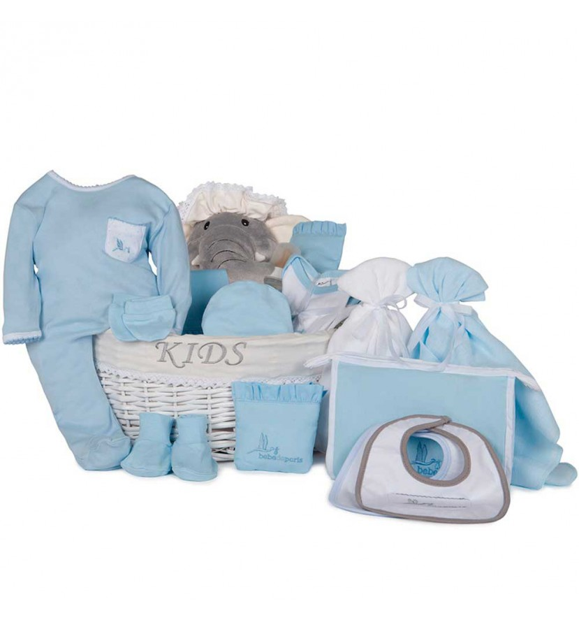 Newborn Baby Hamper & Baby Gift Baskets Complete Post-Hospital Baby Gift Basket