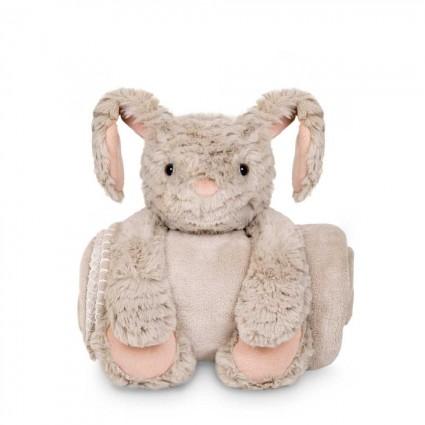 Personalised Baby Gifts  | BebedeParis Baby Gifts  Plush bunny blanket
