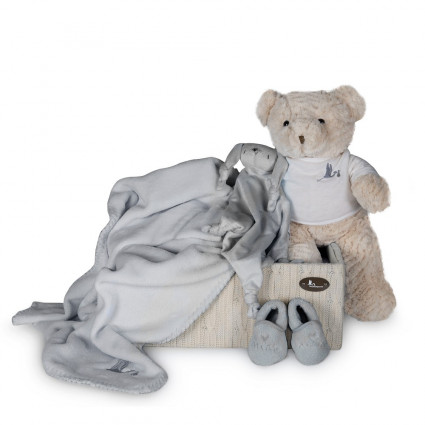 Newborn Baby Hamper & Baby Gift Baskets | BebedeParis  Soft Happy Gift Box
