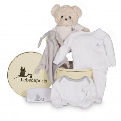 Newborn Baby Hamper & Baby Gift Baskets | BebedeParis  Casual Essential Baby Hamper