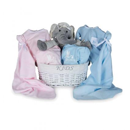 Newborn Baby Hamper & Baby Gift Baskets | BebedeParis  Twins Trousseau Baby Basket