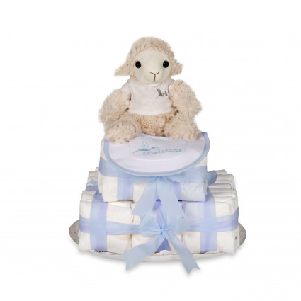 Buy Best Nappy Cakes Online | BebedeParis Baby Products  Biscuit Nappy Cake