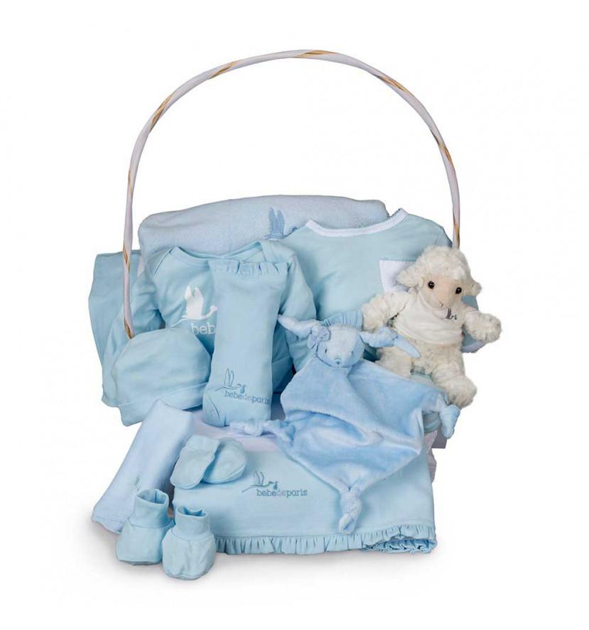 Newborn Baby Hamper & Baby Gift Baskets Deluxe Serenity Baby Gift Basket