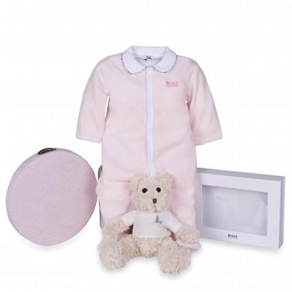 Newborn Baby Hamper & Baby Gift Baskets   BebedeParis  Hugo Boss Baby Pyjama Hamper