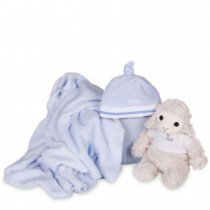 Newborn Baby Hamper & Baby Gift Baskets | BebedeParis  Hugo Boss Baby Knotted Beanie Hamper
