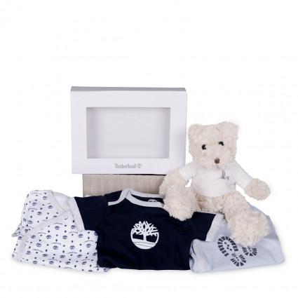 Newborn Baby Hamper & Baby Gift Baskets | BebedeParis  Timberland Baby Bodysuit Set