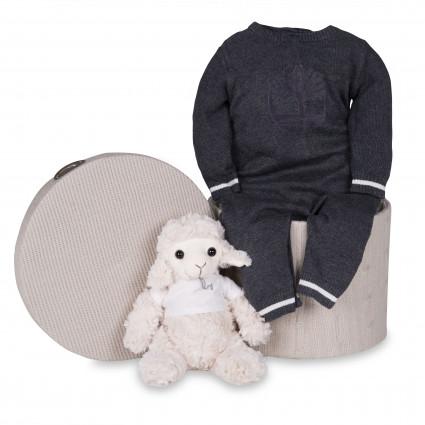 Newborn Baby Hamper & Baby Gift Baskets | BebedeParis  Timberland Baby Luxury Grey Hamper