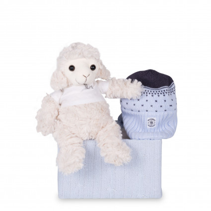 Newborn Baby Hamper & Baby Gift Baskets | BebedeParis  Timberland Baby Hat Gift Set