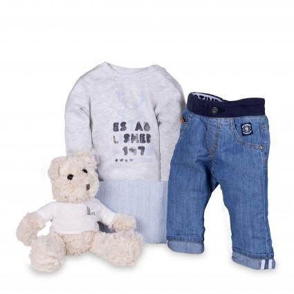 Newborn Baby Hamper & Baby Gift Baskets Timberland Baby Denim Jeans Gift Set