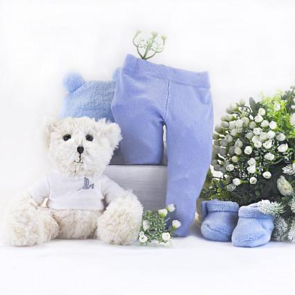 Newborn Baby Hamper & Baby Gift Baskets Leggings hat and newborn bootees baby pack
