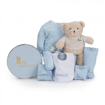 Newborn Baby Hamper & Baby Gift Baskets Embroidered Bib Baby Hamper