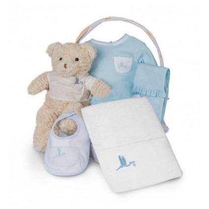 Newborn Baby Hamper & Baby Gift Baskets Essential Bathtime Baby Basket