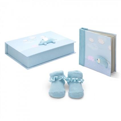 Personalised Baby Gifts  | BebedeParis Baby Gifts  Elephant Baby Gift Set