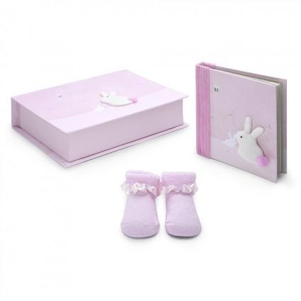 Personalised Baby Gifts  | BebedeParis Baby Gifts  Rabbit Baby Gift Set