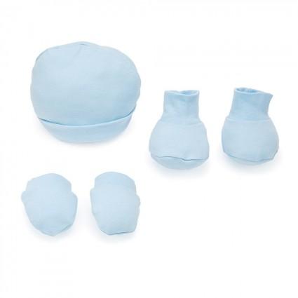 Personalised Baby Gifts  | BebedeParis Baby Gifts  Baby Hat, Mittens and Booties Set