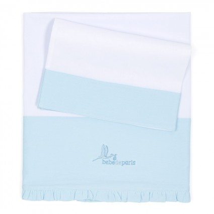 Personalised Baby Gifts  | BebedeParis Baby Gifts  Baby Linen Cot Set
