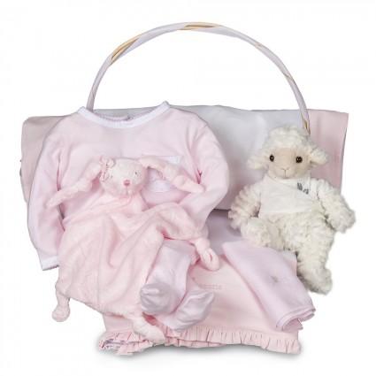 Newborn Baby Hamper & Baby Gift Baskets | BebedeParis  Essential Serenity Baby Gift Basket