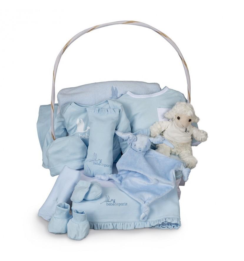 Newborn Baby Hamper & Baby Gift Baskets Complete Serenity Baby Gift Basket