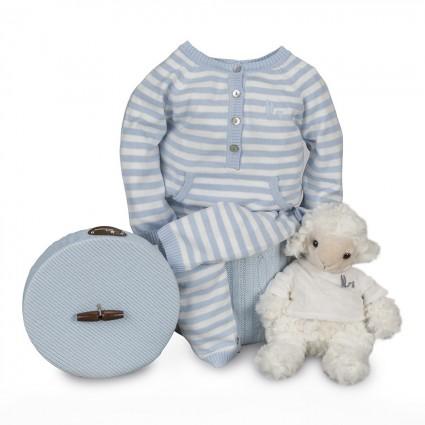 Newborn Baby Hamper & Baby Gift Baskets | BebedeParis  Happy Stripes Baby Hamper